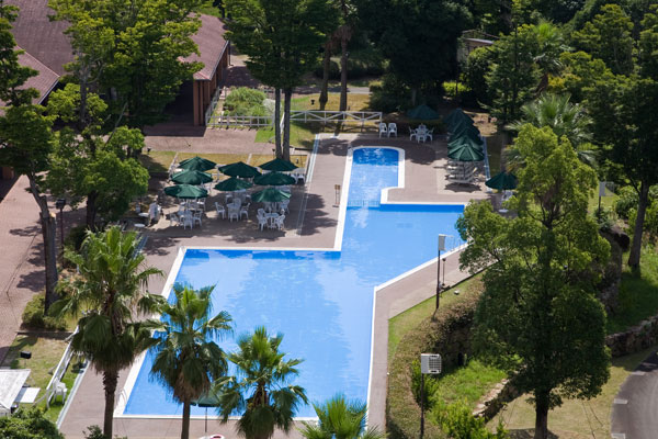 Resort Spa Hotel Sekia Pool In Forest